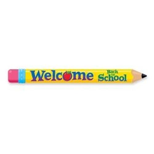 Trend Enterprises Inc Quotable Expressions Multicolor Welcome Pencil Banner