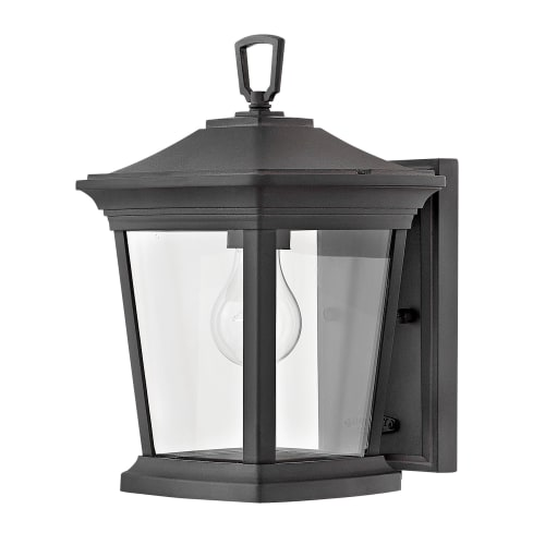 """Hinkley Lighting 2368 Bromley 1-Light 11-3/4"""" High Outdoor Wall Sconce with Clear Glass Shade"""