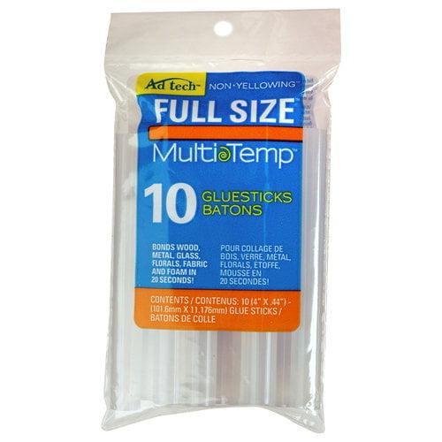 AdTech 10-pack 4 in. Multi-Temp Full-Size Glue Sticks