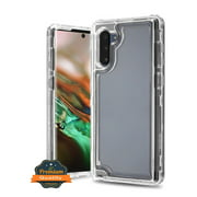 Samsung Galaxy Note 10 Phone Case Premium Hybrid Full-Body Dual Layer Shockproof Frame Bumper Hard PC & Soft TPU Rubber Silicone 3 Layers Protective CLEAR Transparent Cover for Samsung Galaxy Note 10