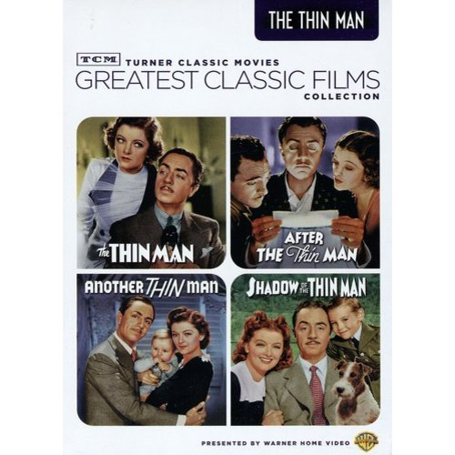 TCM Greatest Classic Films: The Thin Man / After The Thin Man / Another The Thin Man / Shadow Of The Thin Man (Full Frame)