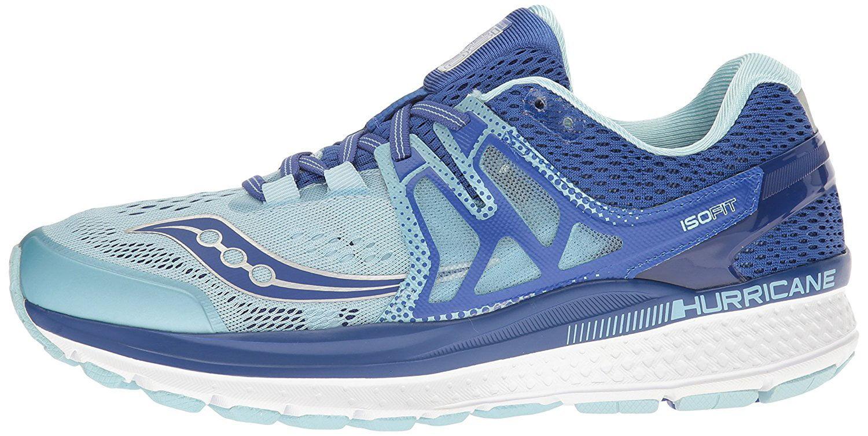Saucony Women's Hurricane 6.5 ISO 3 Running Shoe, Blue/Light Blue, 6.5 Hurricane B(M) US 4b016c