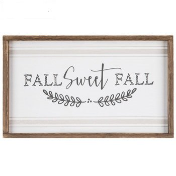 Fall Sweet Fall Wood Decoration Home Decoration Party Supplies