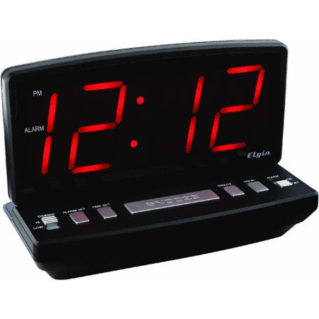 Elgin Electric Alarm Clock Walmart Com