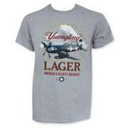 Yuengling Men's Gray Corsair Airplane T-Shirt