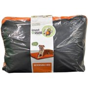 Insect Shield Reversible Bed Large, Grey/Orange