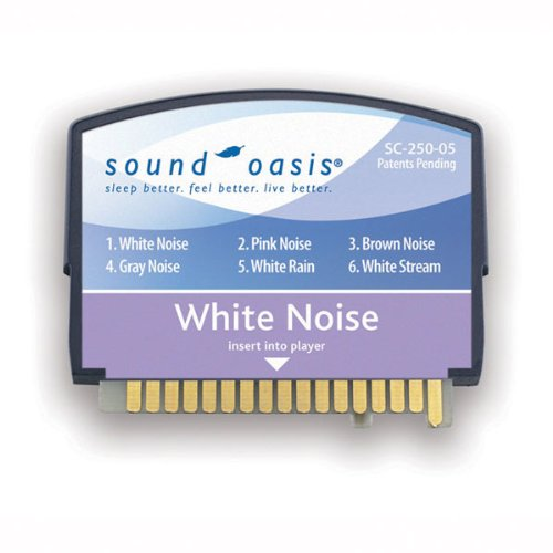 - White Noise Sound Card, White Noise Sleep Sound Therapy System Sound Card 250-05 By Sound Oasis Ship from US
