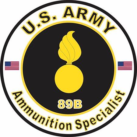 US Army MOS 89B Ammunition Specialist 3.8 Inch