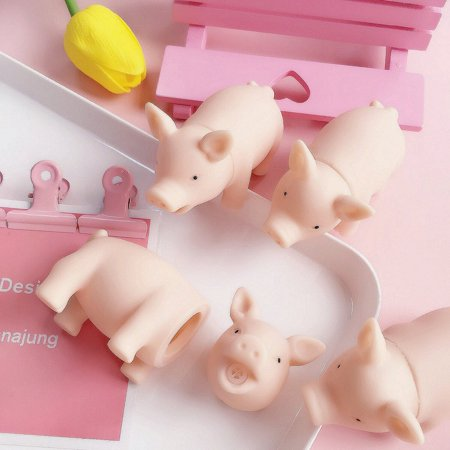 Cartoon Soft Cute Pig Tricking Children Toys Venting Pig Squeezing Toy - image 9 of 11