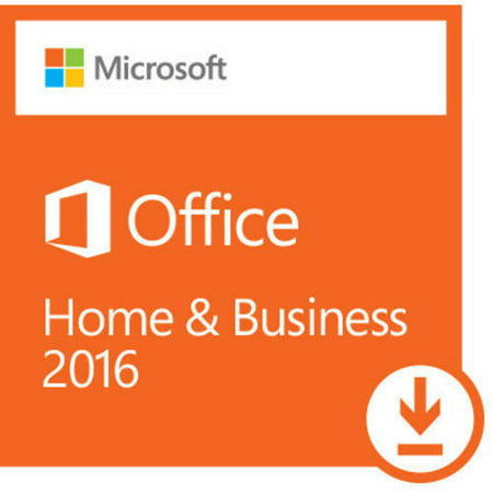 Microsoft Office Home and Business 2016, 1 User, PC Download (User Edge)