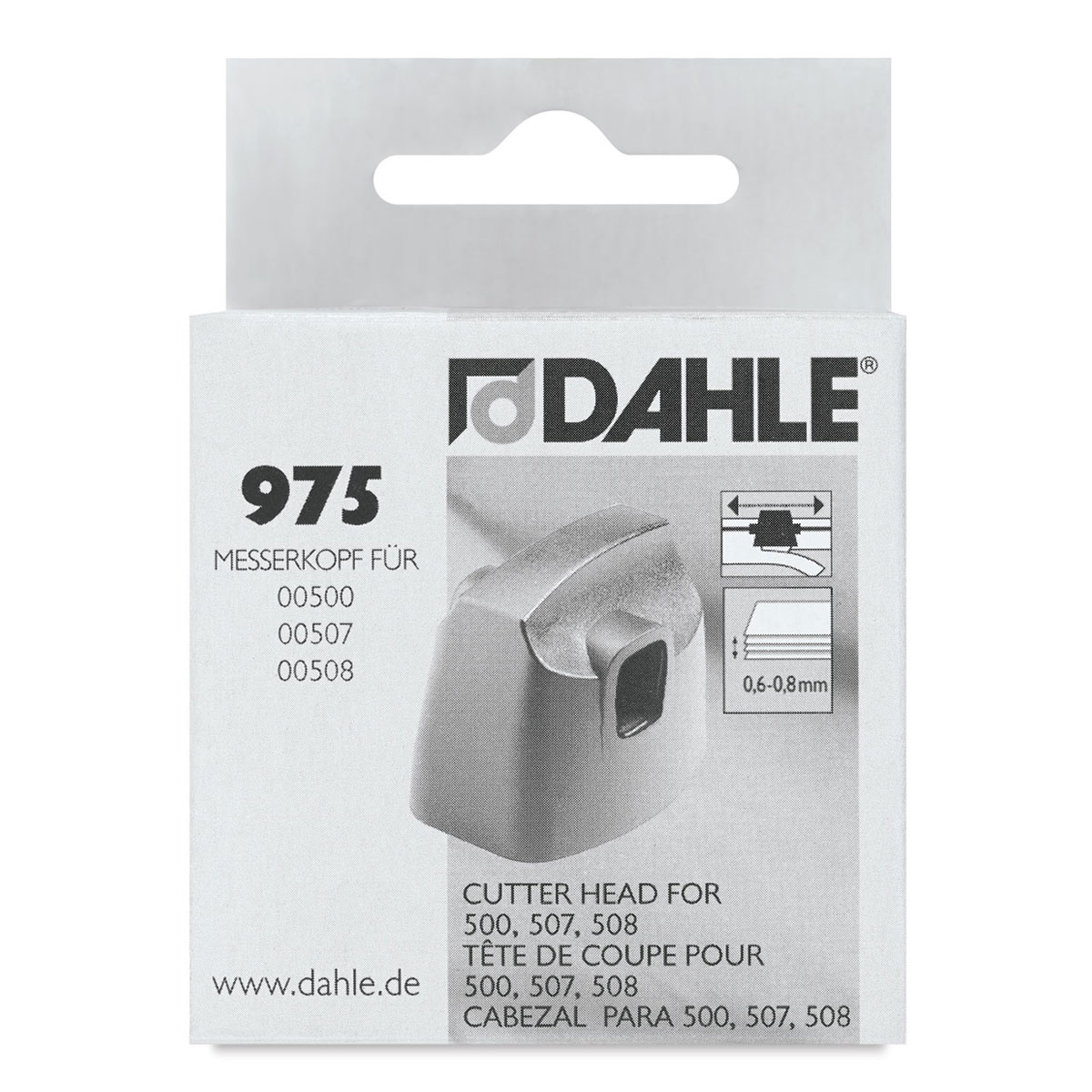 Dahle Replacement Head for D507 and D508