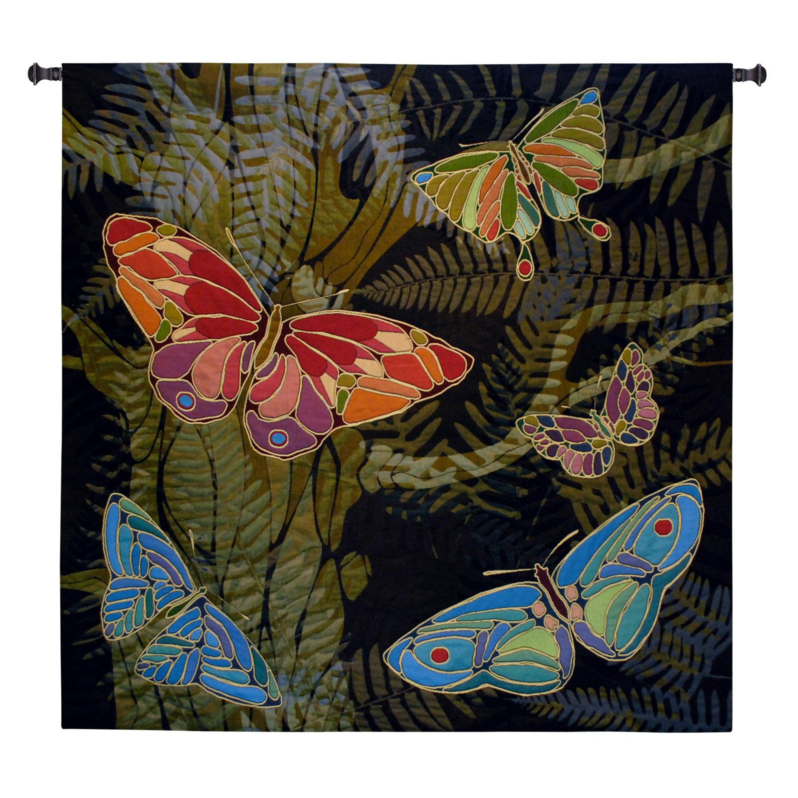 Fine Art Tapestries Woodland Butterfly Wall Tapestry by Supplier Generic