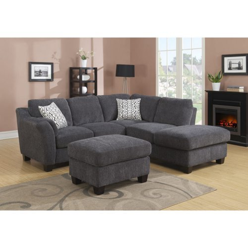 Emerald Home Clayton II 2 Piece Sectional Kit