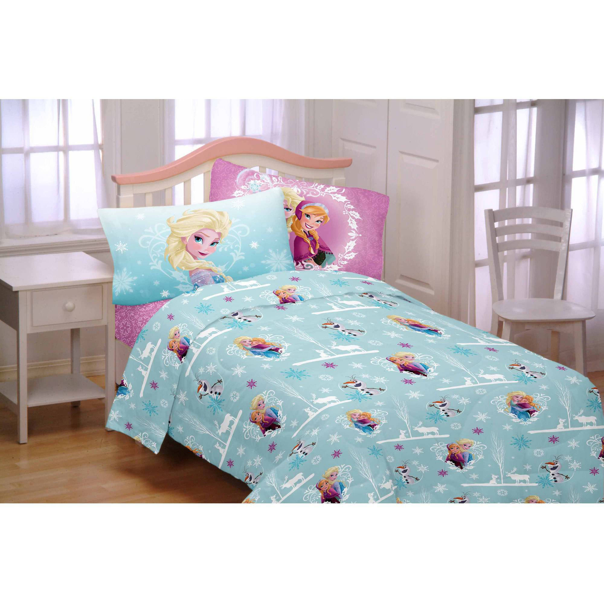 Disney's Frozen 3-Piece Flannel Twin Sheet Set