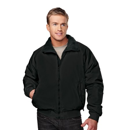 Tri-Mountain Mountaineer 8800 Nylon 3 Season Jacket, 2X-Large, Black/Black