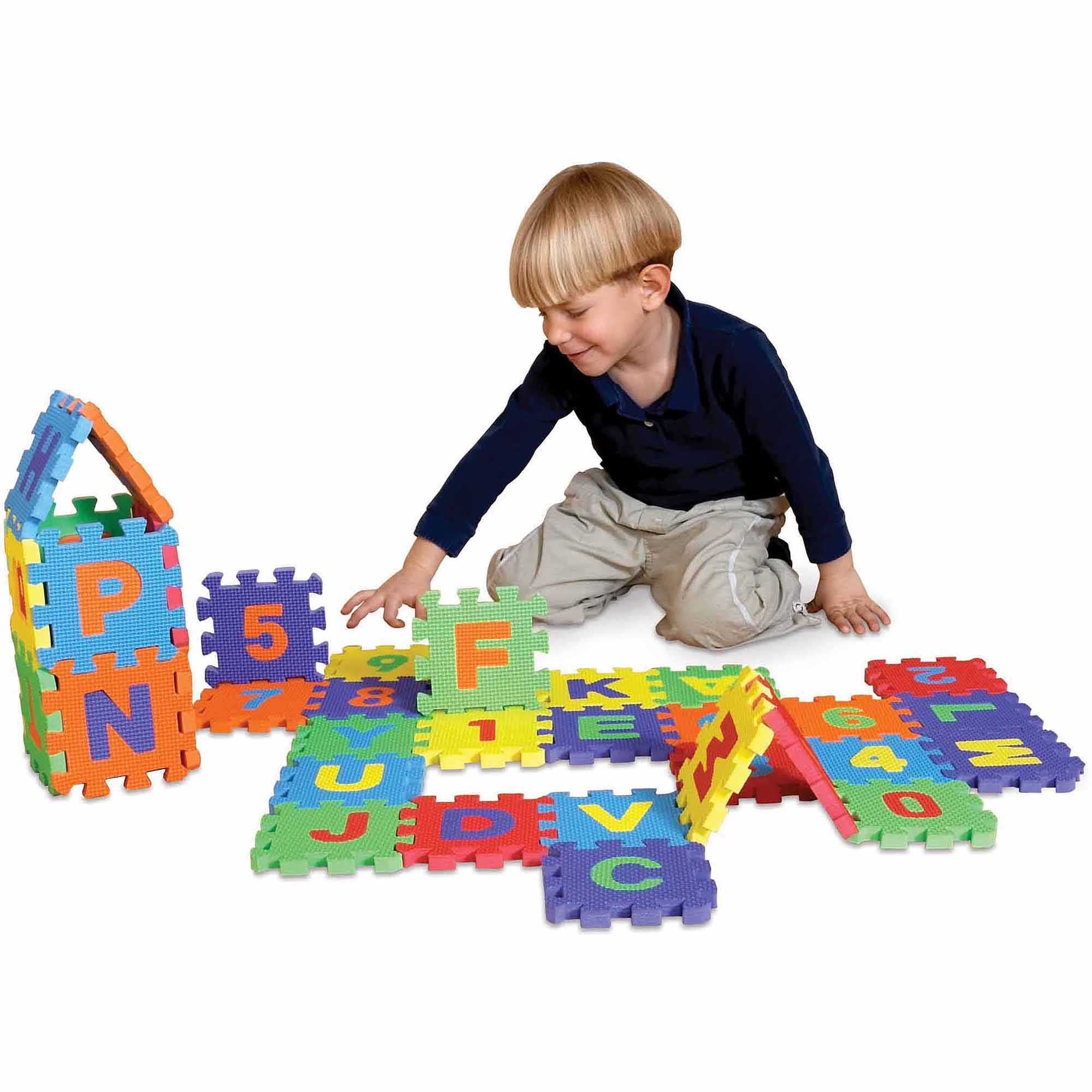 Mini Edu Tiles, Numbers, 10 Pieces