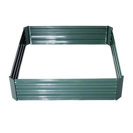 2 Set Galvanized Metal Raised Garden Bed - 26