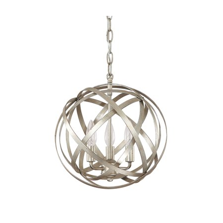 Capital Lighting Axis Winter Gold 3 Light Pendant