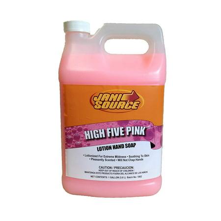 High Five Foaming Hand Soap Gallon (Gallon Foam Soap)
