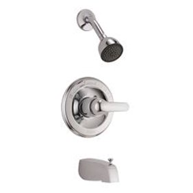 delta t14278 sslhp stainless leland monitor shower trim only