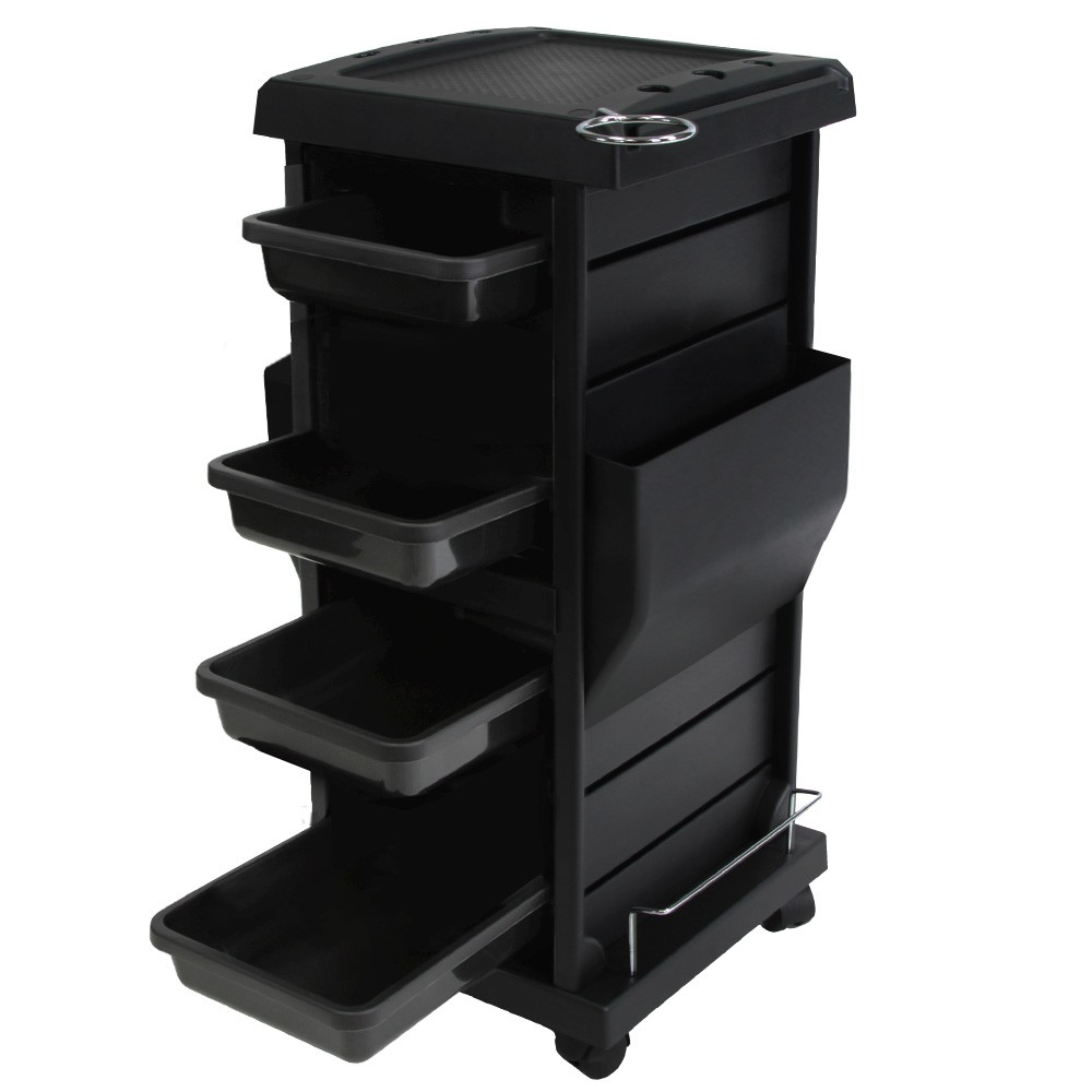 Salon Spa Tool Accessories Holder Storage Trolley Cart Pa...