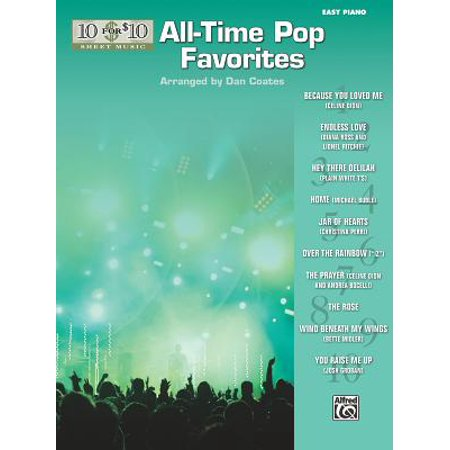 10 for 10 Sheet Music All-Time Pop Favorites : Piano Solos - Halloween Night Piano Sheet Music