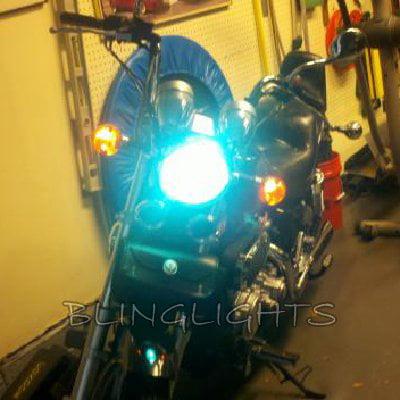 Kawasaki Vulcan 500 VN500 Xenon HID Conversion Kit for Headlamp Headlight Head Lamp Light (Lg Xenon Gr 500 Rubber)