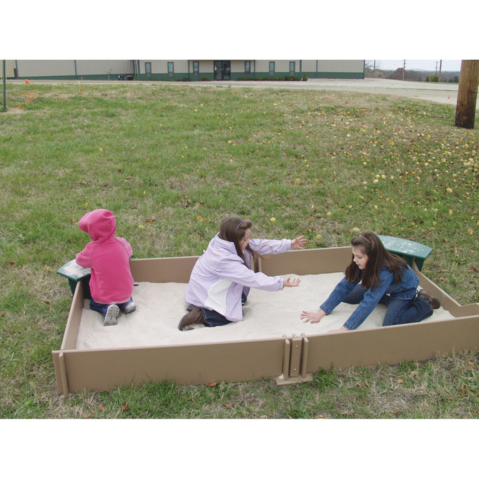 Sportsplay Tot Town Sandbox Natural by