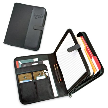 Golden Pacific 51813K Venture Plus Padfolio -