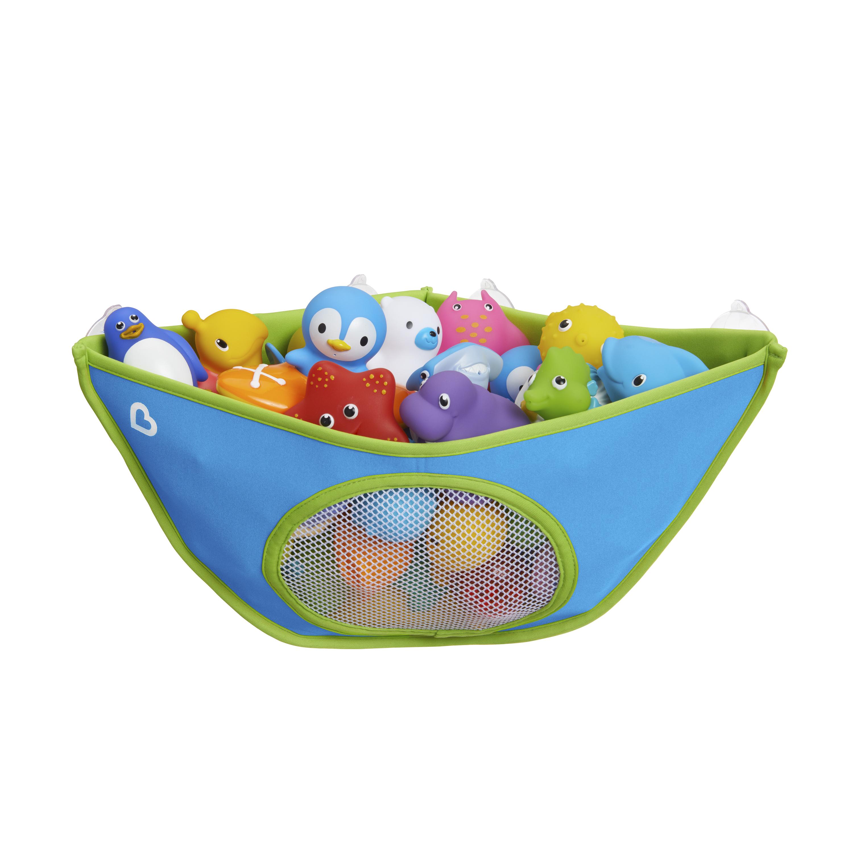 Munchkin High'n Dry Bath Toy Organizer, Blue