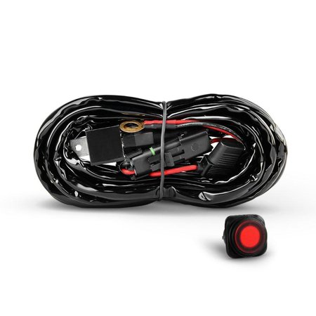 Nilight Off Road ATV/Jeep LED Light Bar Wiring Harness Kit 40 Amp Relay on jeep relay switches, packard relay wiring, jeep clutch, ford relay wiring, jeep fuel pump relay, mini relay wiring, mercury relay wiring, car relay wiring, jeep horn relay, motorcycle relay wiring, iso relay wiring, jeep brake lights, kia relay wiring, volvo relay wiring, jeep headlights, renix relay wiring, automotive relay wiring, gm relay wiring, subaru relay wiring, ac relay wiring,