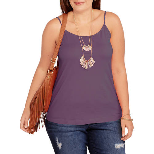 Faded Glory Women's Plus-Size Essential Cami