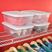 Sterilite 12 Quart Storage Box- White (Available in Case of 15 or Single Unit)