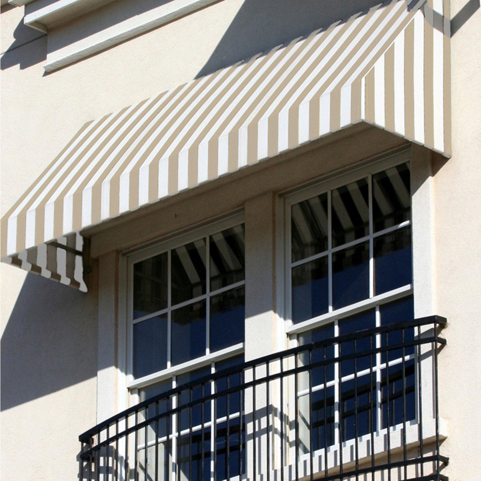Awntech Beauty-Mark New Yorker 8 ft. Window/Door Awning