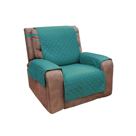 Admirable Home District Reversible Quilted Microfiber Recliner Chair Cover With Pockets Protects Furniture From Pet Hair And Mess Spiritservingveterans Wood Chair Design Ideas Spiritservingveteransorg
