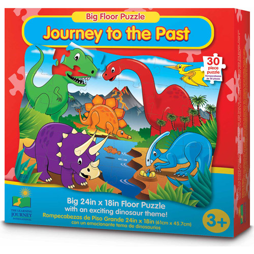The Learning Journey Big Floor Puzzle, Journey to the Past