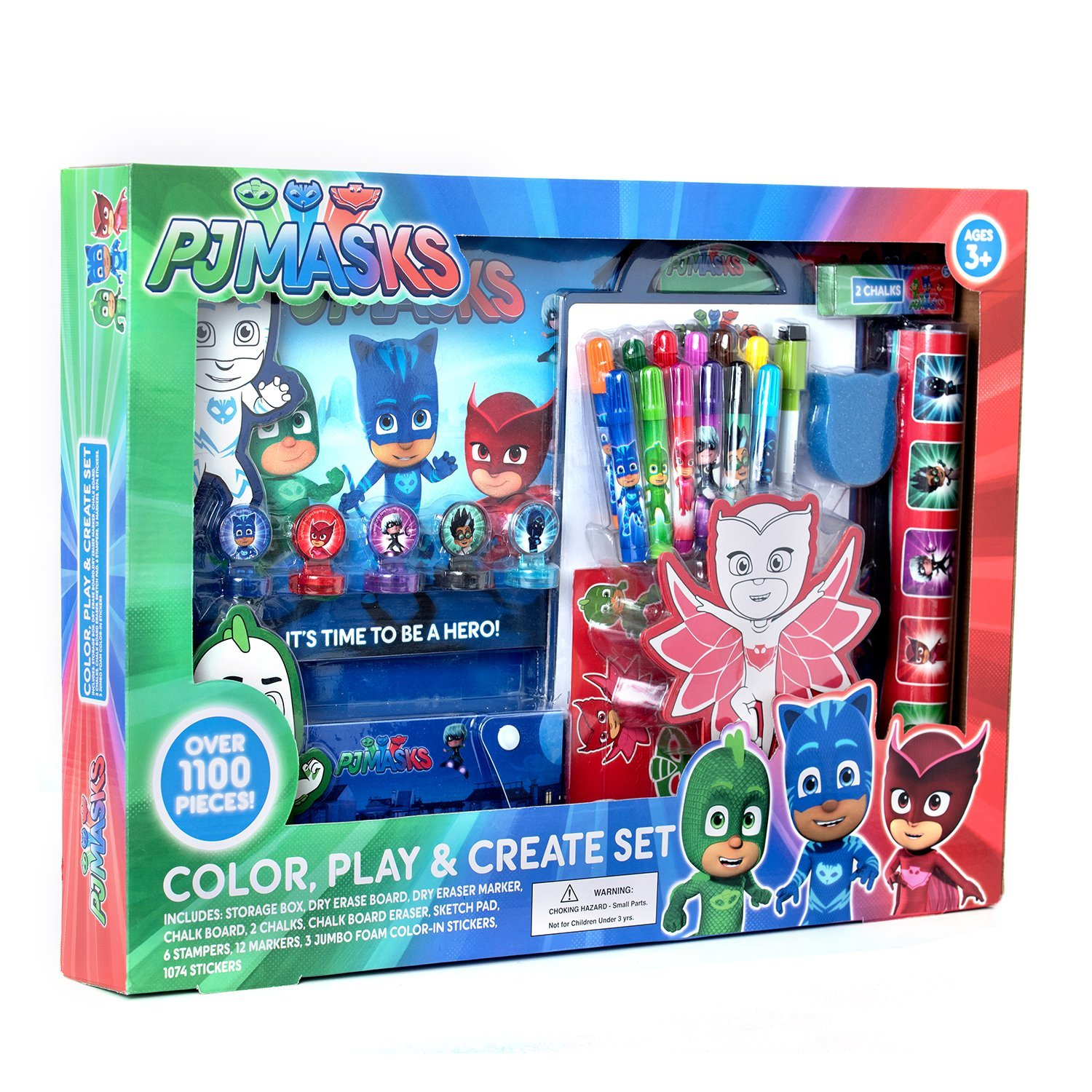 Pj Masks Color Play Create Art Set Fun And Creative Learning The Colorplay Engage Your Child Into An Enjoyable Productive Experience As He Hones