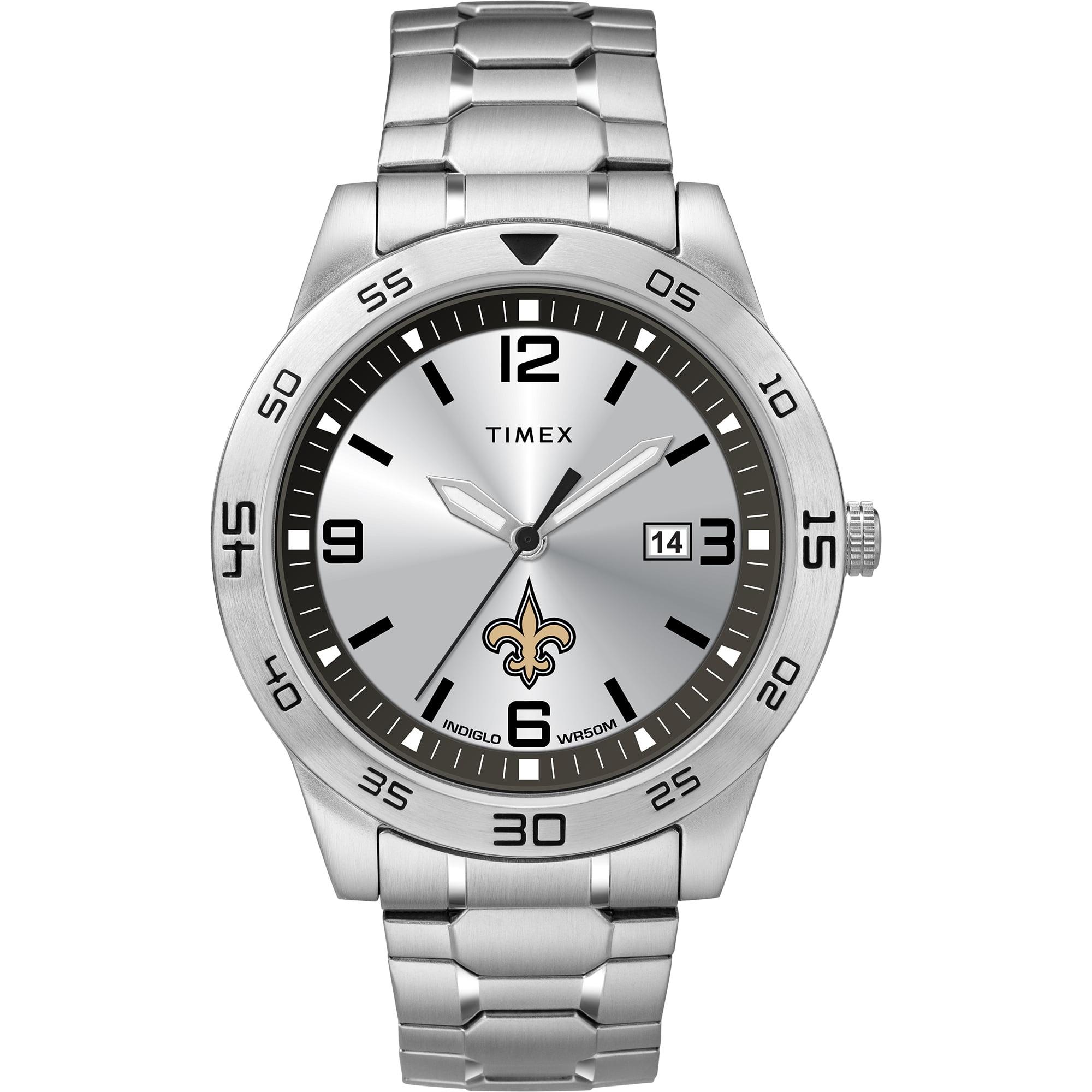 Timex - NFL Tribute Collection Citation Men's Watch, New Orleans Saints