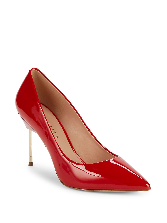 Britton Patent Leather Stilettos
