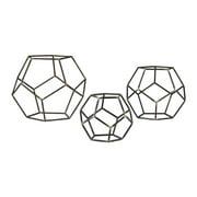 Geometric Orbs - Set of 3