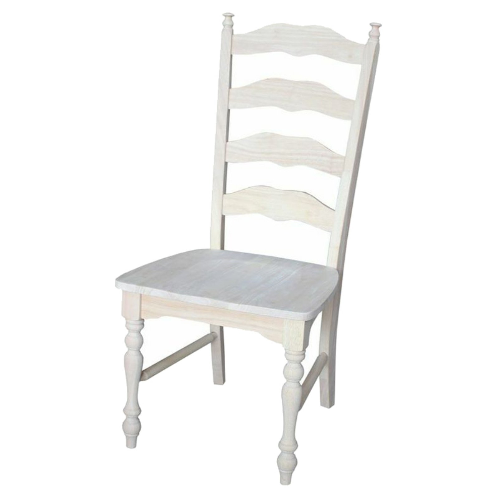 International Concepts C 2170P Maine Ladderback Chair, Ready To Finish