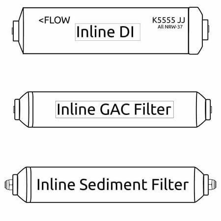 Portable Ro Mikro Delta Filter Kit  Former Psi Filter Fit