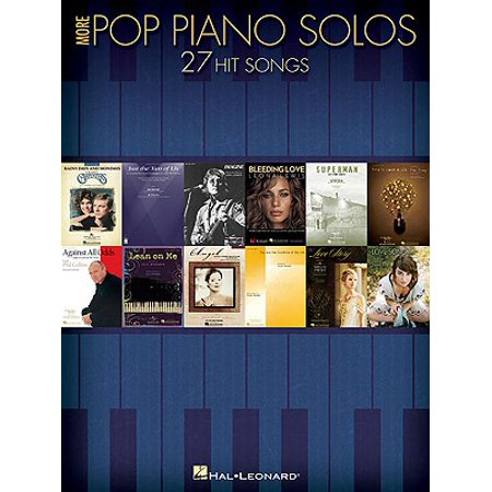 More Pop Piano Solos : 27 Hit Songs ()