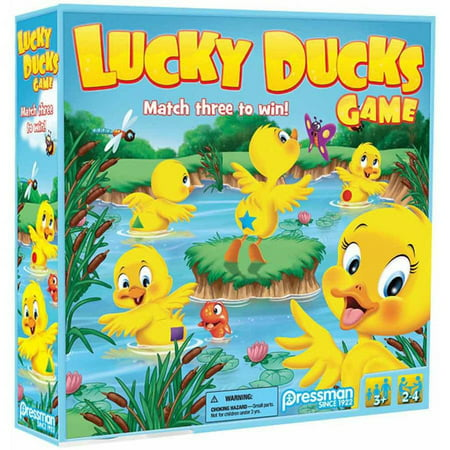 Pressman Toy Lucky Ducks Game for Kids Ages 3 and Up](Halloween Games For Large Groups)