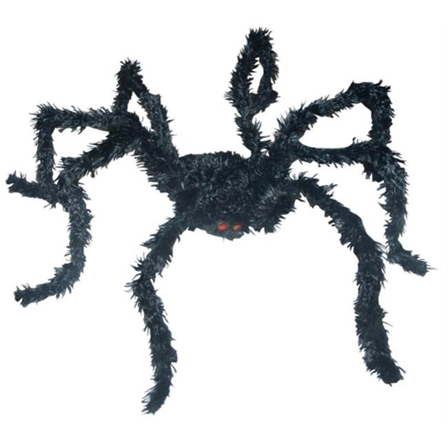 Costumes For All Occasions Ss87237 Light Up Bk Spider Long Hair