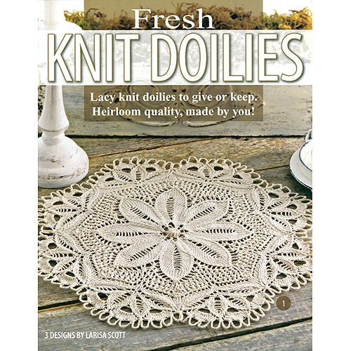 Leisure Arts Fresh Knit Doilies