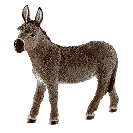 13772 Donkey Toy - Brown, Ages 3 & - Donkey Toys
