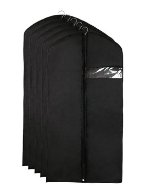 Product Image Garment Cover Bags Storage Bag Dress Suit Coat Jacket  Protector Set of 5 b07624314fbae