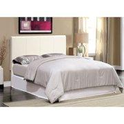 Furniture of America Mellie Platform Bed, Eastern King, White