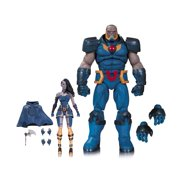 DC Comics Icons: Darkseid & Grail Figures Justice League Dark Lord Apokolips Collectibles APR160448